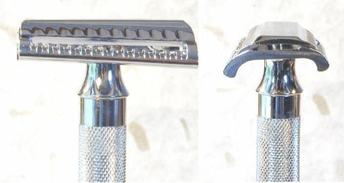 Merkur slant bar