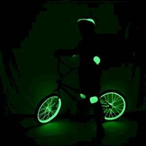 Bike glowing