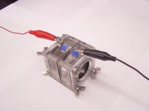 Pollution-based fuelcell