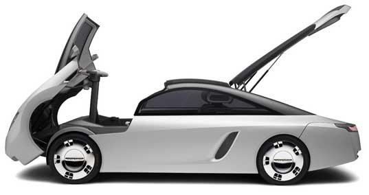White Cars Loremo LS Concept