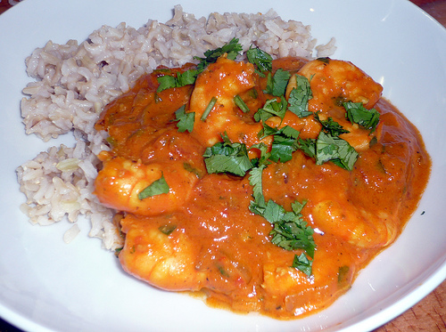 30-Minute Prawn Curry
