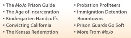 <i>Mother Jones</i> series on prisons