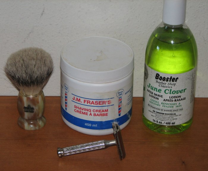 A great set-up for an exceptional shave