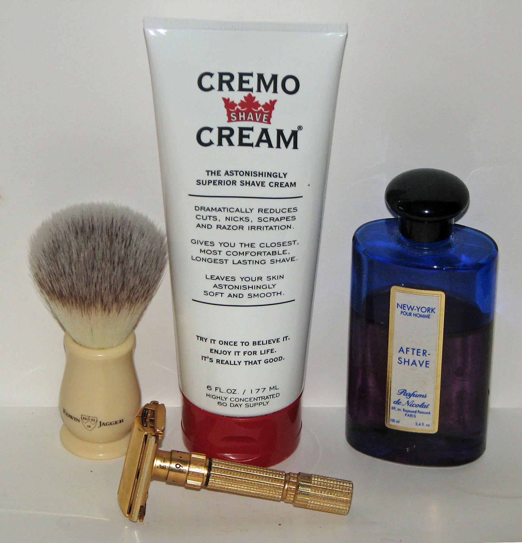 Cream shaver