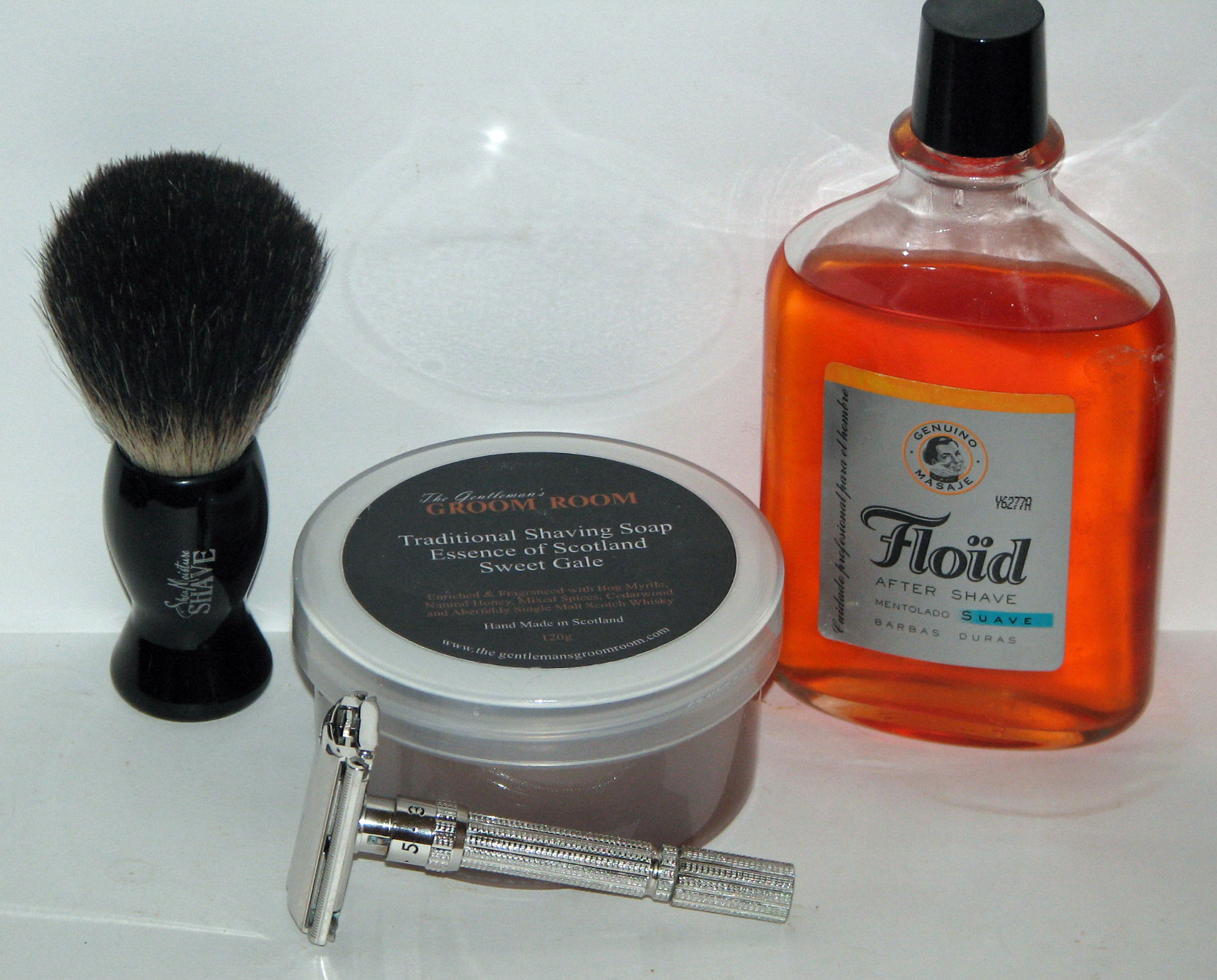 New Brush And New Soap Later On