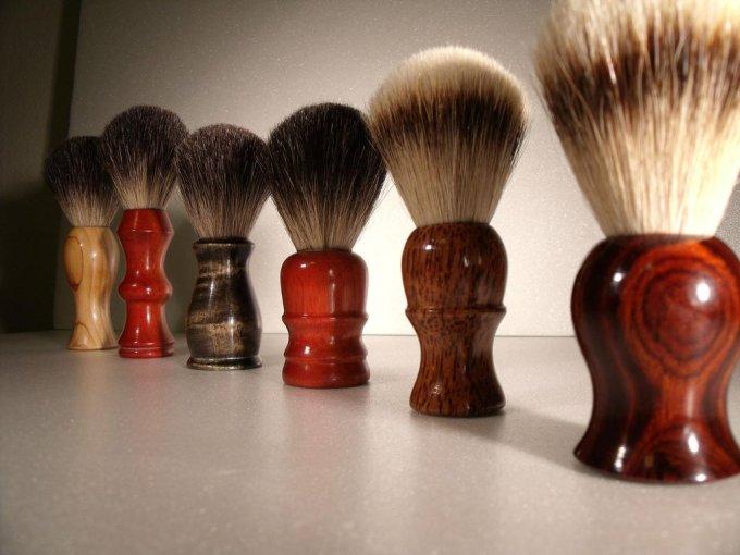 Strop shop brushes