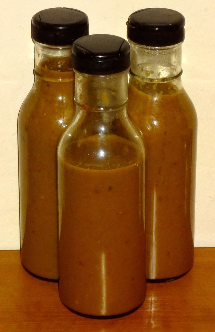 Pepper sauce without chipotles in adobo or dried Ancho chiles
