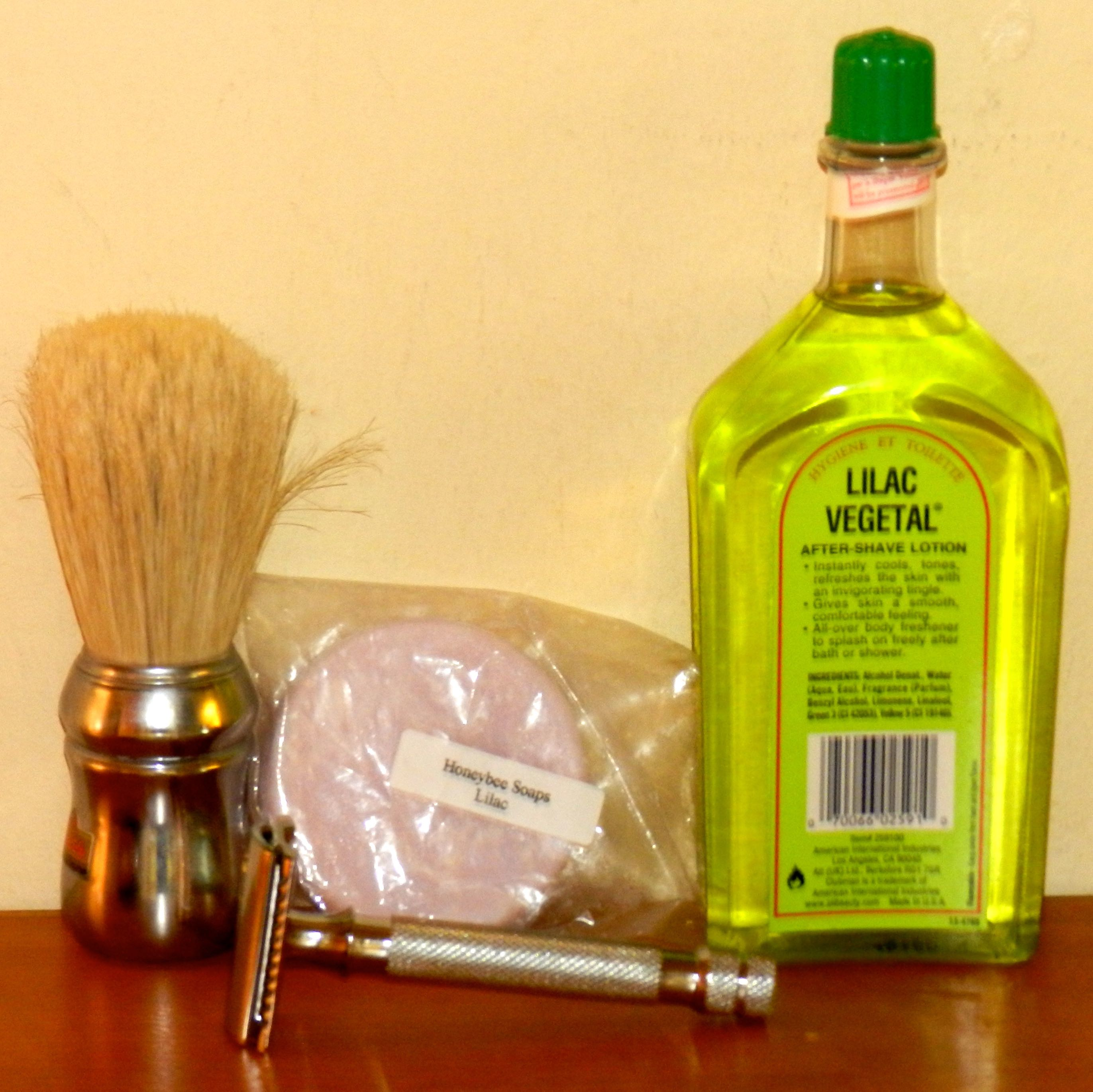 A weird result in the lather experiments and a new inexpensive razor