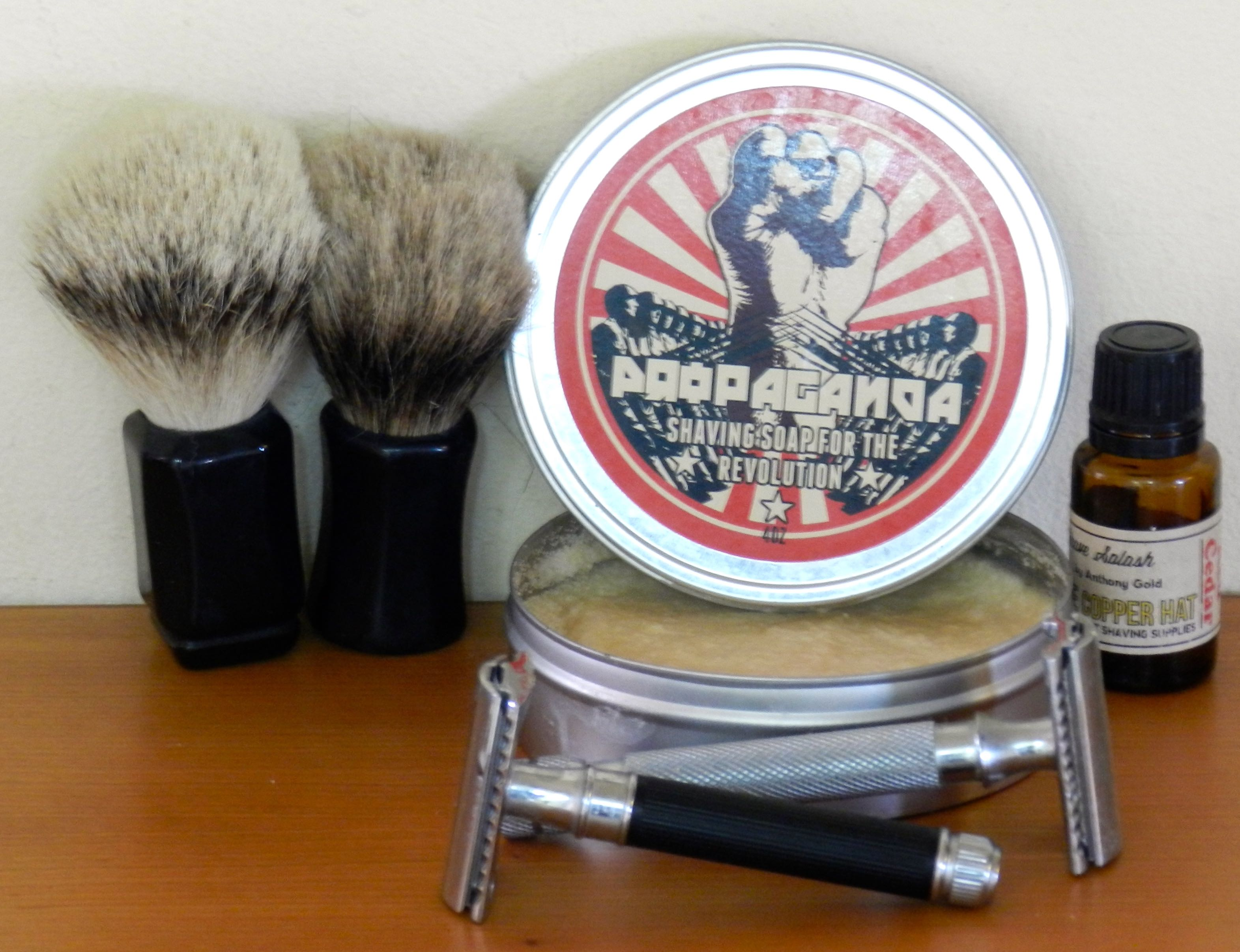 comparison whipped dog brushes silvertip and high mountain badger