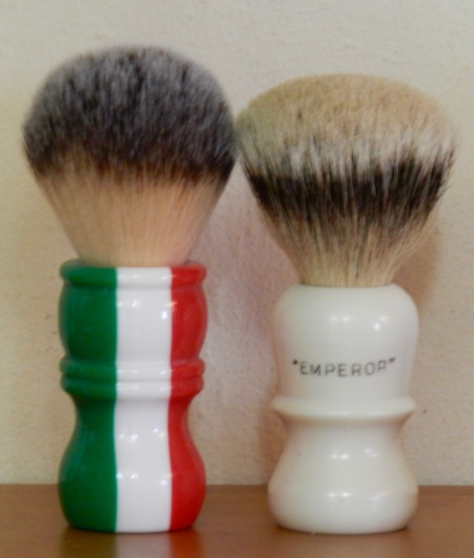 Two brushes
