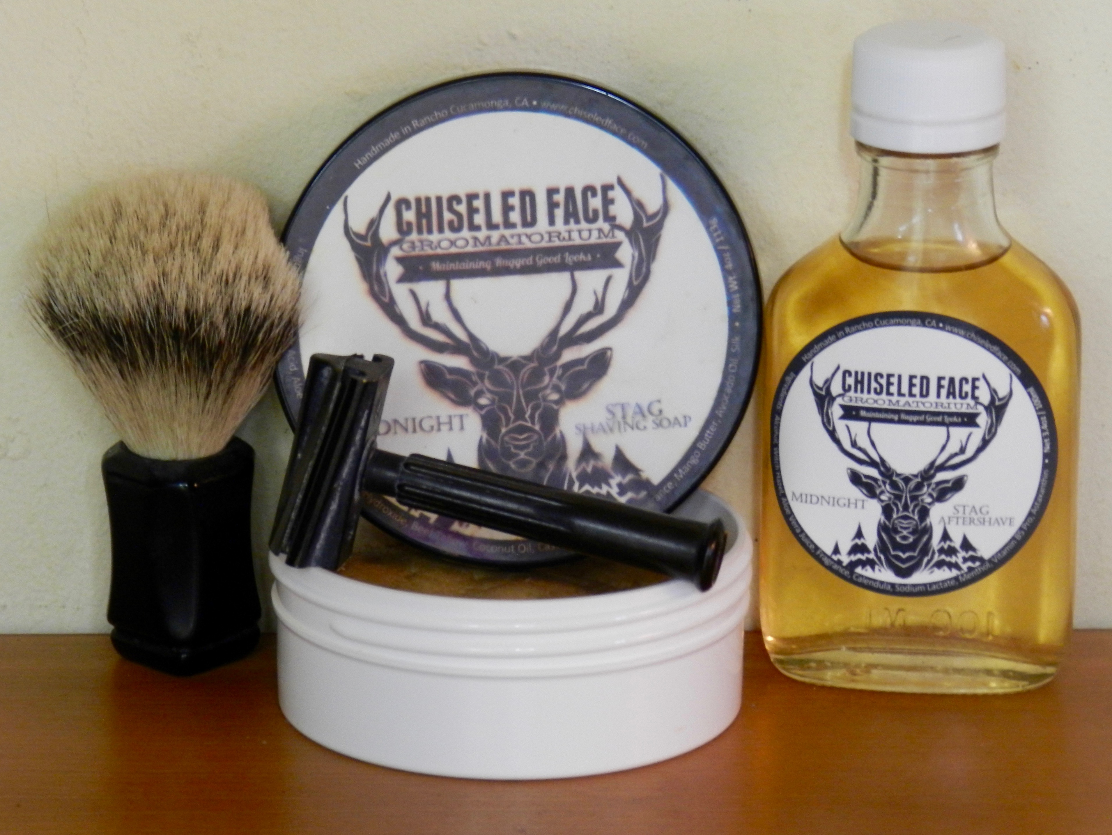 whipped dog brush with midnight stag and the eros slant later on