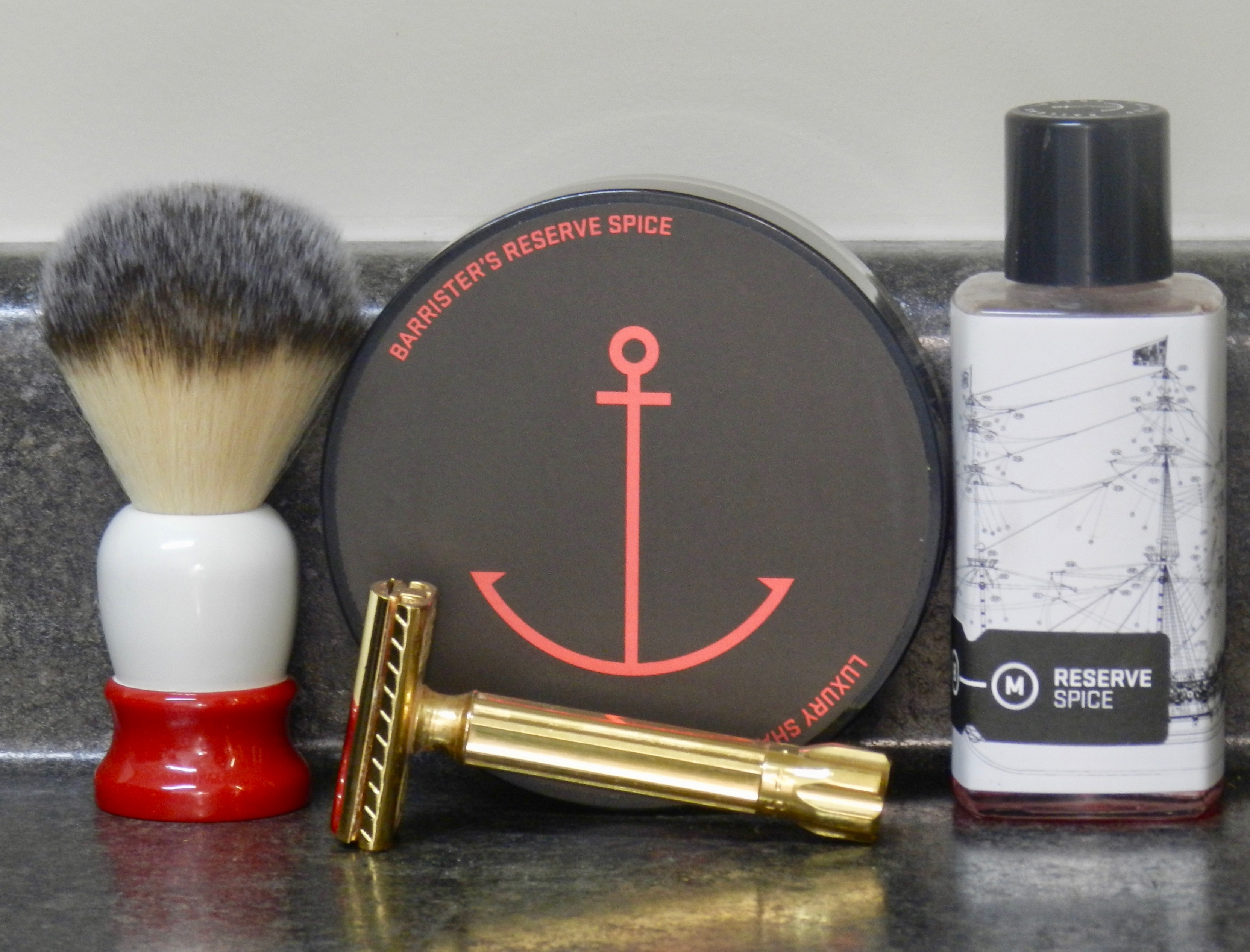 Barrister Mann Reserve Shaving Soap Wow Later On